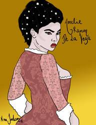 Amelie Ramon de La Vega by Kirmashni