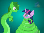 Twilight meets Jack by LunaHazACookie