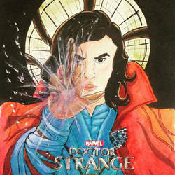 Fanart Doctor Strange Movie (MCU) by LexOsFO