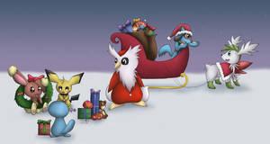 -PKMN- Christmas Night by pdutogepi