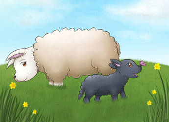 Baa Baa Black Sheep by pdutogepi