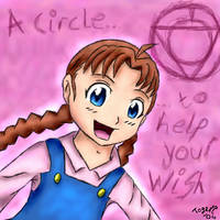 A Circle to Help your Wish by pdutogepi