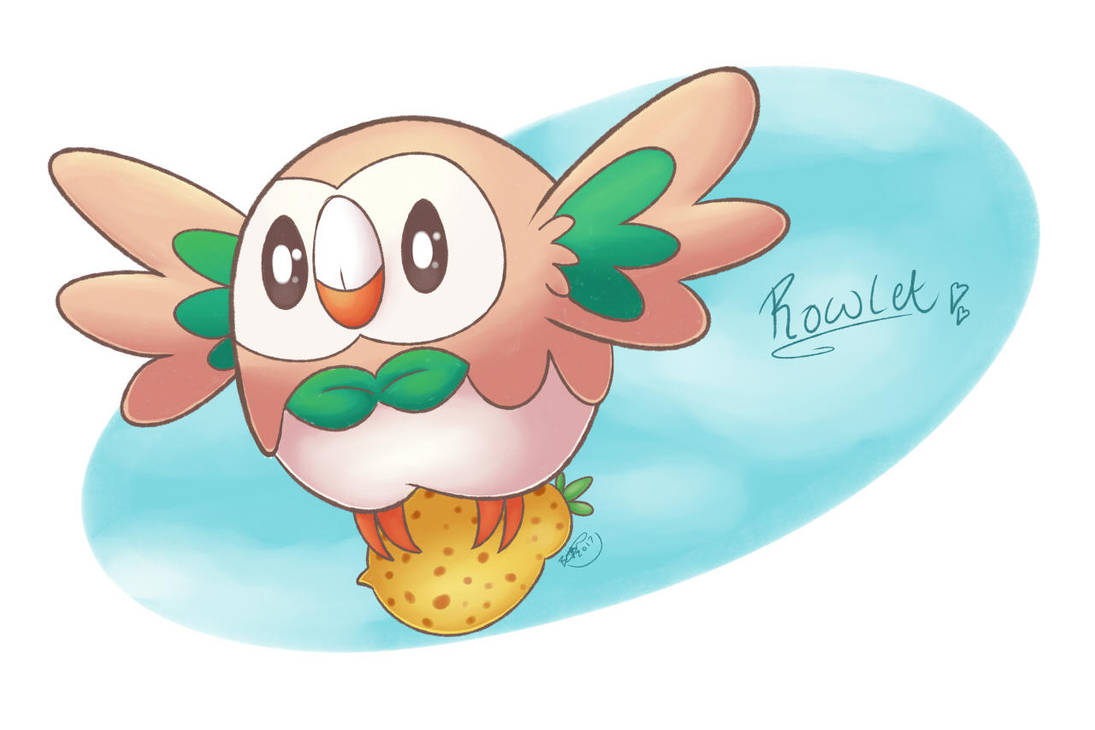 Rowlet's Treat by pdutogepi