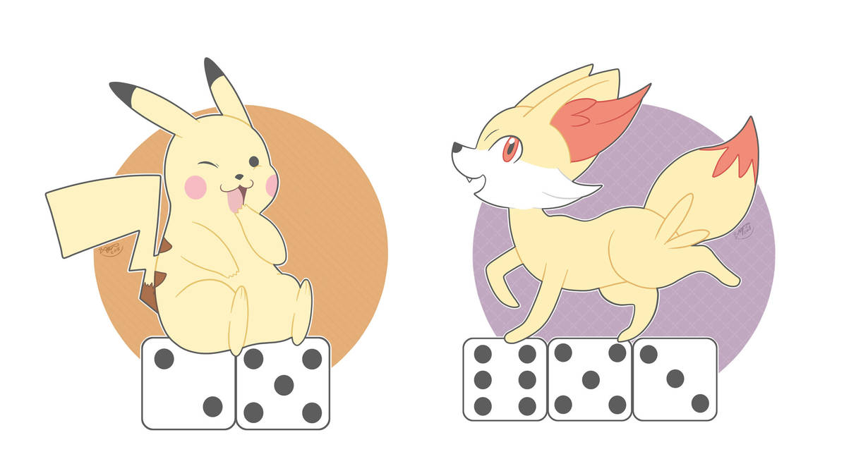 Pokemon and Dice by pdutogepi