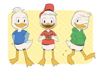 Duck Triplets by pdutogepi