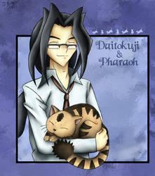 --GX-- Daitokuji and Pharaoh by pdutogepi