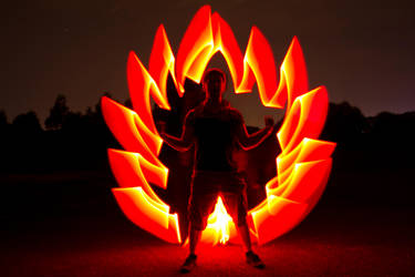 Light painting by Wh1te54