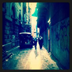 Old Beyoglu Street by cherrymeichan