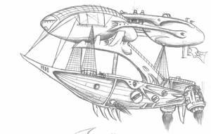 skyship bloodlust by eaglespan