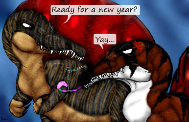 Welcome 2019! by Stegodire