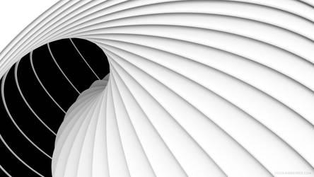 The Round and Round Wallpaper by Matt-Mills