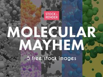 Molecular Mayhem: 5 Free Stock Images by Matt-Mills