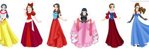 Princess pokegirls by Hapuriainen