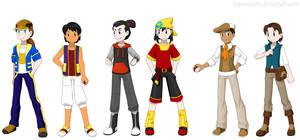 Pokemon Princes by Hapuriainen
