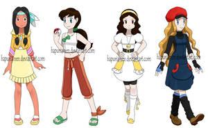 Pokemon princesses 5 by Hapuriainen