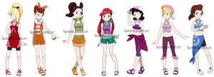 Pokemon Princesses 6 - Daughters of Triton edition by Hapuriainen