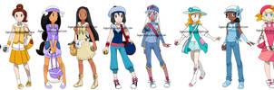 Pokemon Princesses 10 by Hapuriainen