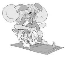 Truffle tennis time by AlloyRabbit