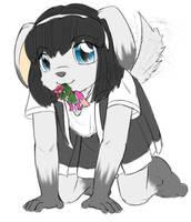 puppy Rem by AlloyRabbit