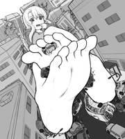 Ilya hits the street by AlloyRabbit