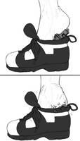 shoe padding by AlloyRabbit