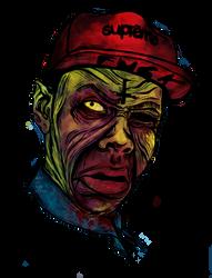 Tyler The Creator: Zombie by ArtOnBoyFlesh