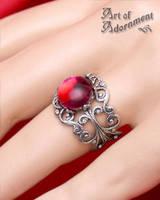 Brandywine Filigree Ring by ArtOfAdornment