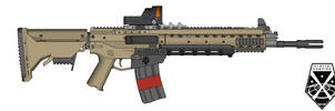 XCOM X9 Assault Rifle by killerdragon558
