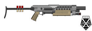 XCOM Shotgun by killerdragon558