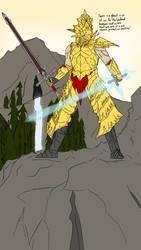 Knight Adrien of Astora (Dark Souls OC) by killerdragon558