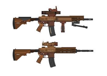HK G26 (Assault Rifle) by killerdragon558