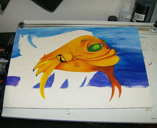 Tough Fishie - WIP by kalamate