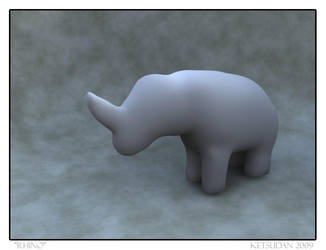 Shapeshop Rhino by JohnCLJansen