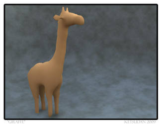 ShapeShop Giraffe by JohnCLJansen
