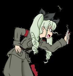Commander Anchovy (Chyomi Anzai) by RainySunshineArt