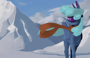 Scarf Winter Pone 2: Electric Boogaloo by Enma-Darei