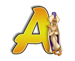 A is for Aladdin by MartinsGraphics