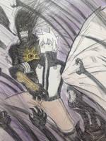The Vagrant Gravekeeper (Lycus) by Blazing0Pixel
