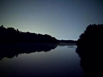 River Reflection by electricjonny