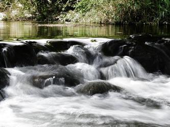 Flowing Water by electricjonny