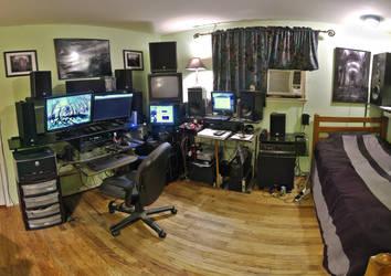 Workspace 3-31-16 by electricjonny