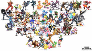 Super Smash Bros. Ultimate - Wallpaper (WIP) by 64smashmaster3ds