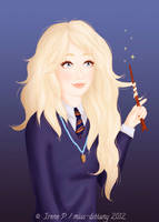 Luna Lovegood by Avelynnn