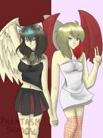 Reicheru and Yuki by HauntedCherub