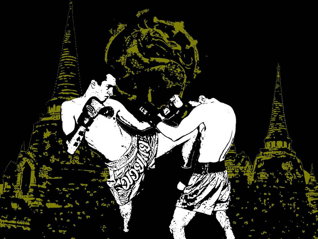 Muay Thai Wallpaper By Laddedadde On Deviantart
