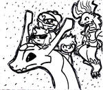 CrossTale : Flight of the heirs by ReyzekThunder