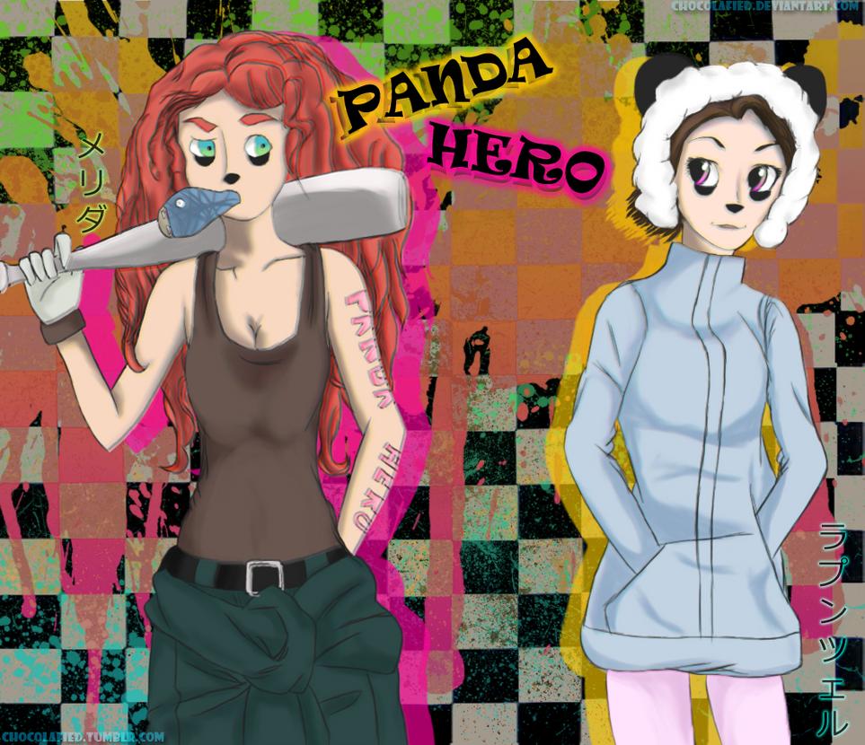.:Panda Hero: Meripunzel:. by chocolafied