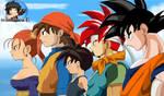 Team Akira Toriyama by Patdarux