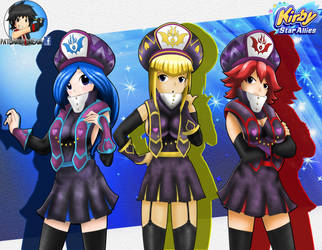 Jambastion Mages Kirby Star Allies by Patdarux