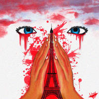 prayers for Paris by unnibabu